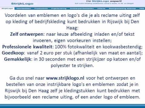 Rijswijk Bij Reclame Kleding Bedrukken Den Youtube Haag WIH92DE