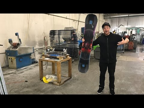 Building a Custom Snowboard at the Never Summer Snowboard Factory : Day 4
