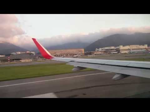 4K takeoff Hong Kong express flight to Tokyo haneda