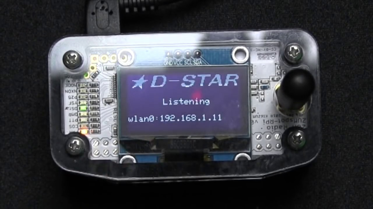 Setting up a Zumspot with attached 1 3 OLED Screen and Pi-Star image