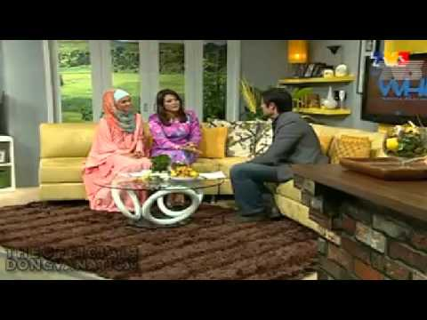 Dingdong Dantes at Wanita Hari Ini tv3 Malaysia (4-27-12)