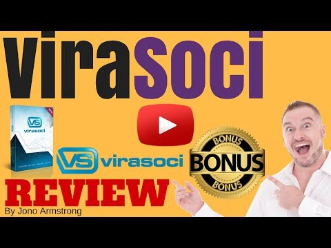 ViraSoci Review [WARNING] DON'T BUY VIRASOCI WITHOUT MY **CUSTOM** BONUSES!!
