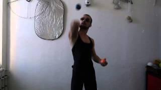 #33. Отбивы 3М (видео уроки по жонглированию от ПГ)