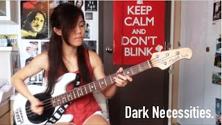 RHCP - Dark Necessities (Bass Cover)