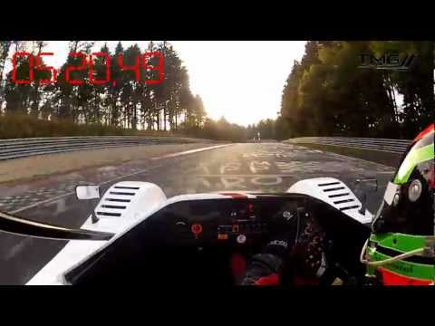 Nürburgring Nordschleife Electric Lap Record Lap with TMG EV P002