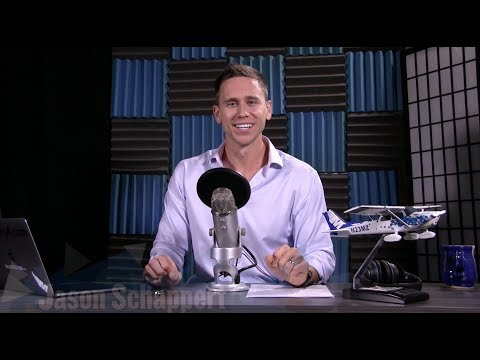 Aviation Podcast recording with Jason Schappert - MzeroA Flight Training