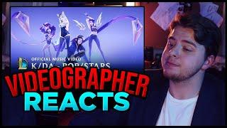 Videographer reacts to K/DA - POP/STARS | Music Video - League of Legends