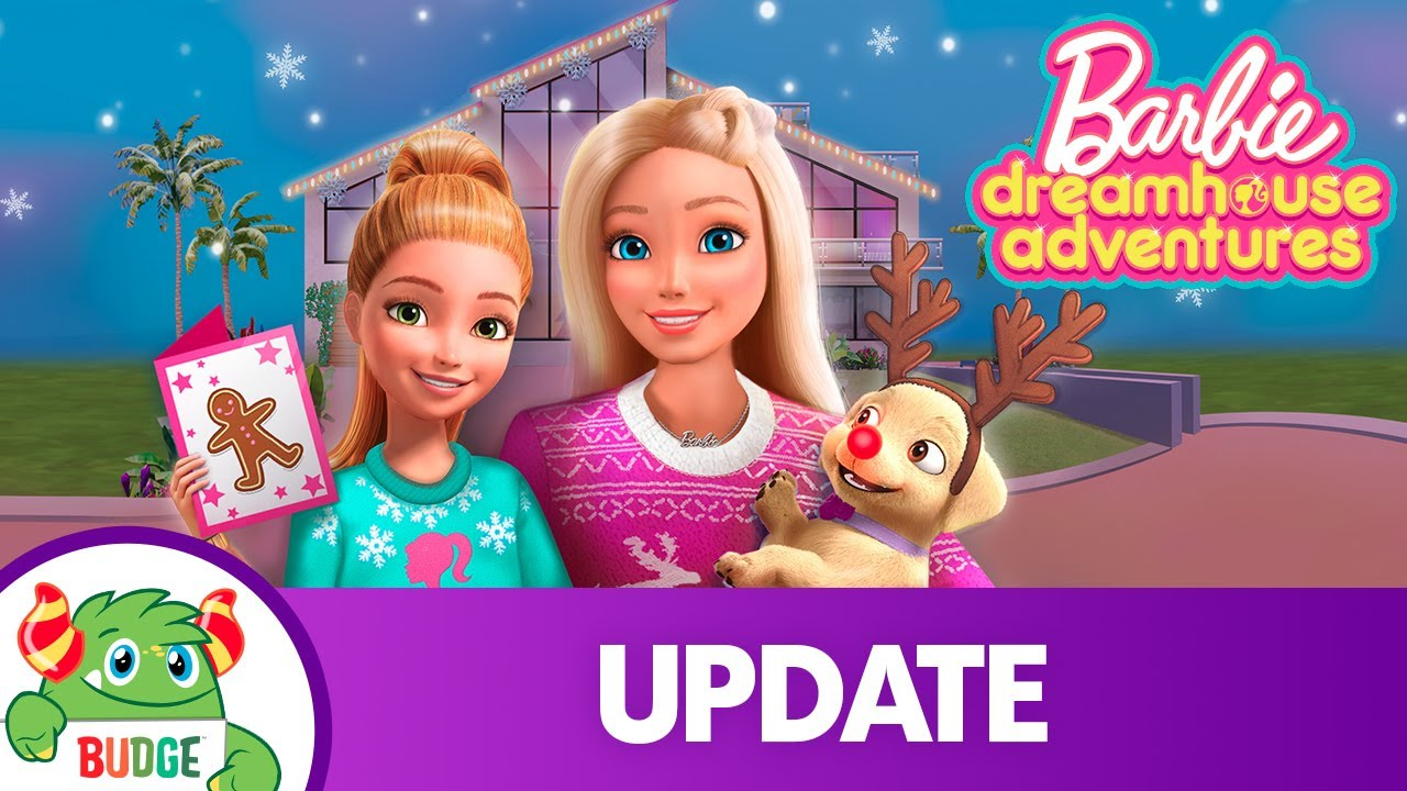 Download Barbie Dreamhouse Adventures   Happy Holidays 🎄