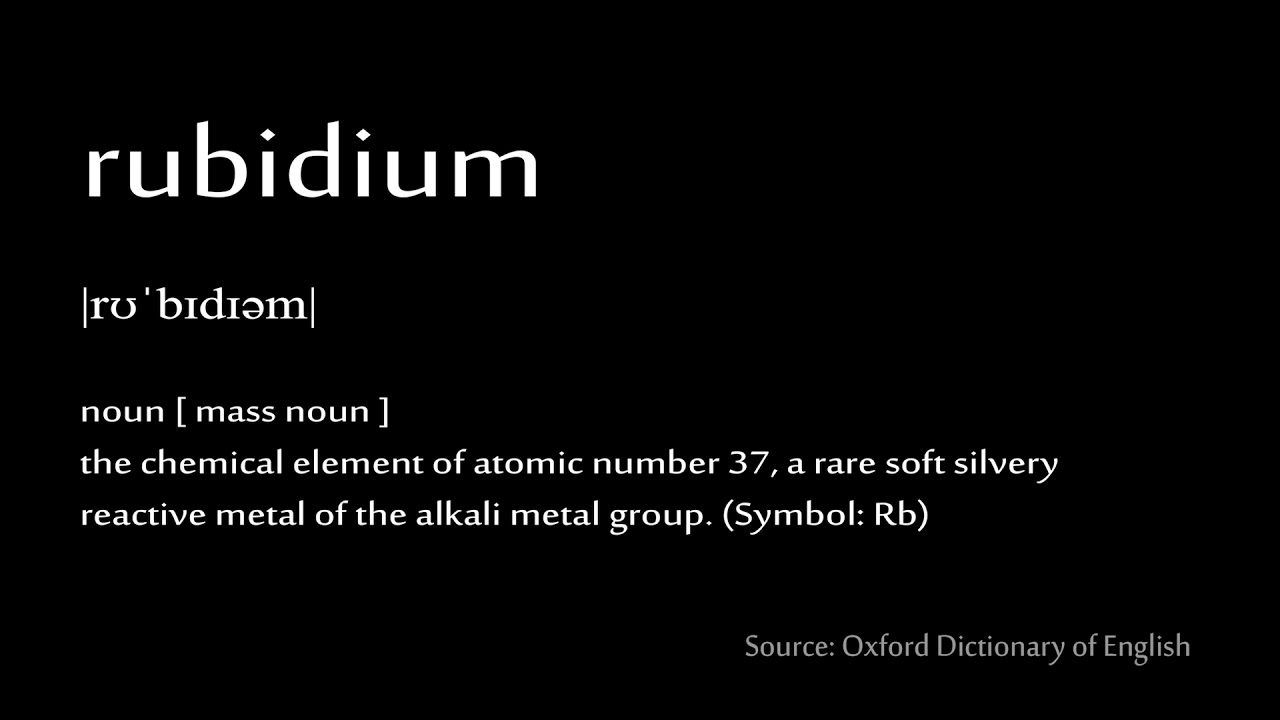 37 rubidium how to pronounce chemical elements periodic table 37 rubidium how to pronounce chemical elements periodic table buycottarizona Choice Image