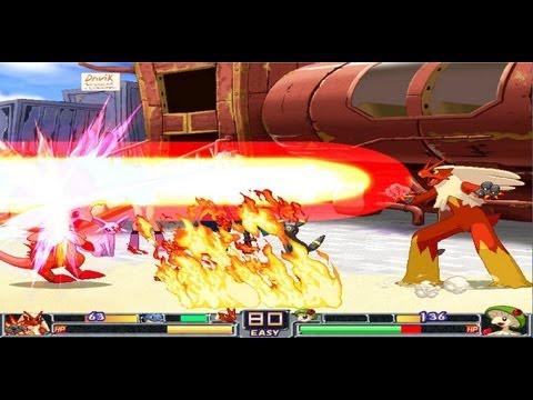 Pokemon Fighting Game - Pokemon Type Wild