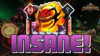 INSANE BURN! 5 STAR RANK 4 DORMAMMU - RANK UP + GAMEPLAY [MCOC]