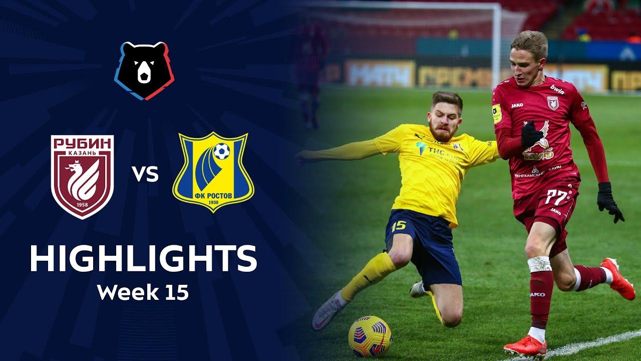 Highlights Rubin vs FC Rostov (0-2) | RPL 2020/21