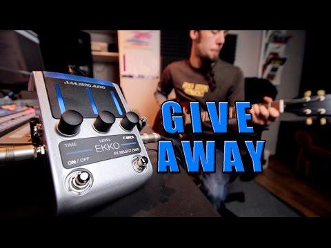 GIVE AWAY! Aalberg Audio Ekko Pedal