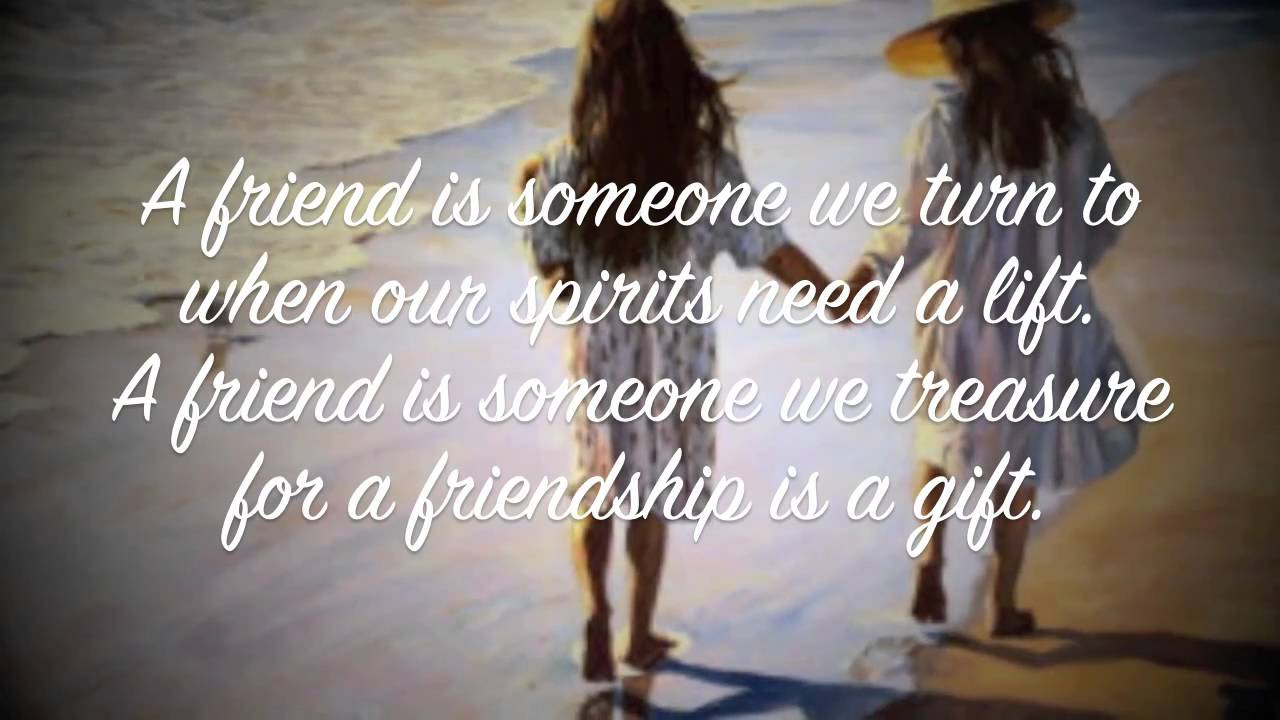 French Quotes About Friendship A Poem Of True Friendship  Youtube