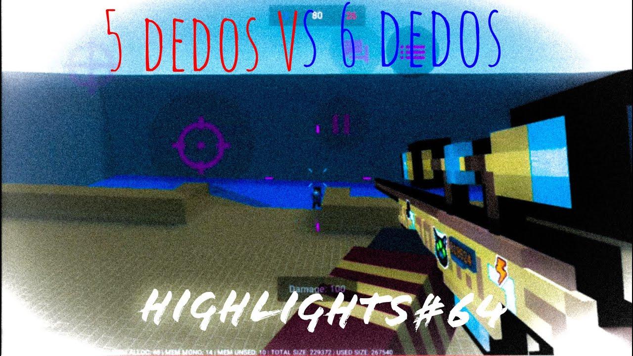 🔴5 dedos vs 6 dedos🔵 | ☠️X1 EZ? ☠️| Block Strike highlights#64 ft. Sub descrição!!