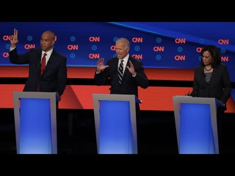 2nd Dem Debate Pt 2: Presidential Candidates Attack Trump as a Racist (1/4)
