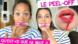 {CRASH-TEST #9} 👄 On se tatoue les lèvres ! 💅 Les peel-off en vedette