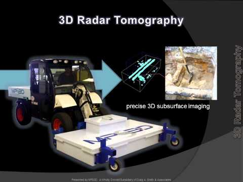 MPS3D: 3D Radar Tomography for Underground Utility Mapping & Imaging