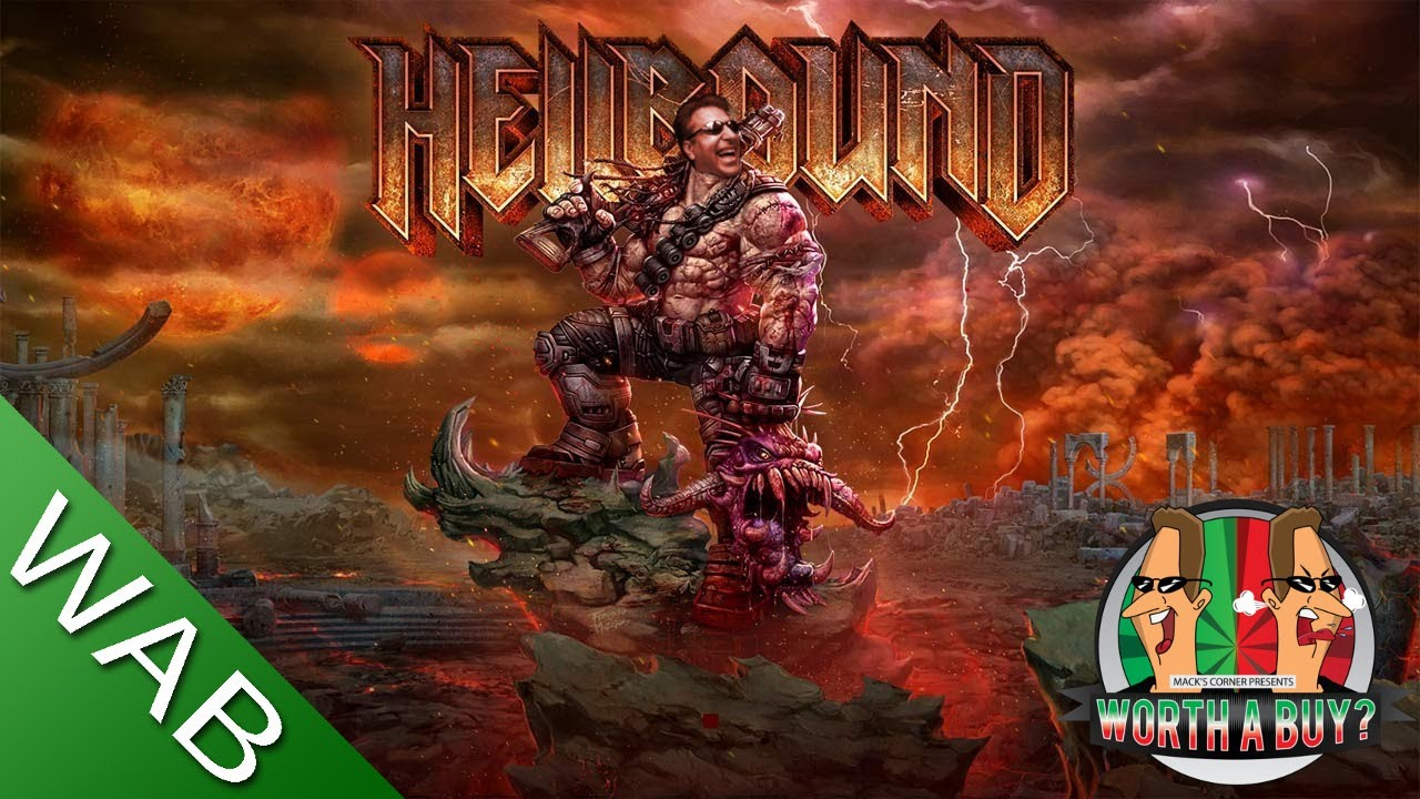 Hellbound Review - A new 90's style shooter