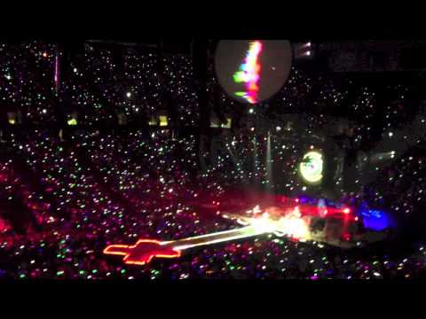 Coldplay Mylo Xyloto Tour 2012 Meadowlands Arena