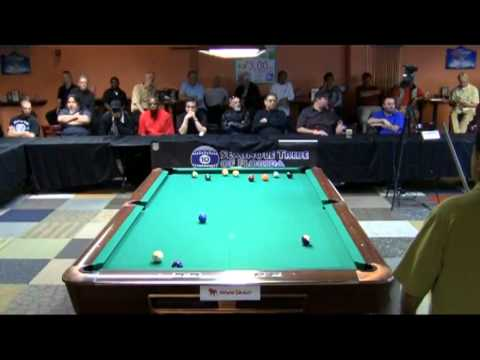 Rafael Martinez vs. Scott Frost 1-Pocket - California Billiards