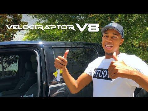 John Henson VelociRaptor V8 Delivery
