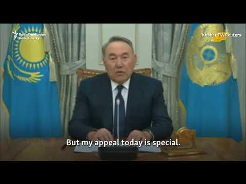 Kazakh President Nazarbaev Announces Resignation, Will Retain Key Roles