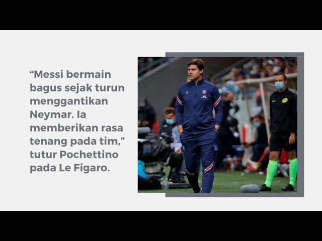 Nyaris Sempurna, Lionel Messi Jalani Debut di PSG