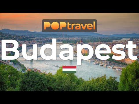 Walking In BUDAPEST / Hungary 🇭🇺- Chain Bridge To Citadella - 4K 60fps (UHD)