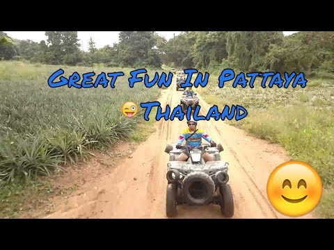 ATV ULTIMATE TOUR in pattaya with Pattaya Droner and Kev in Thailand