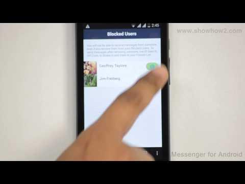 Line Messenger - How To Delete Blocked User