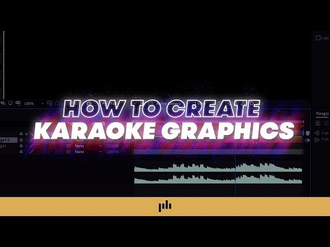 How To Make Karaoke Graphics EASILY in After Effects | PremiumBeat.com