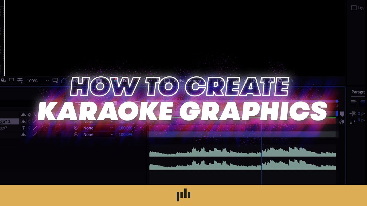 Download How To Make Karaoke Graphics EASILY in After Effects | PremiumBeat.com