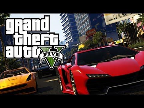 VOZIMO SE U NAJBRZA KOLA ! Grand Theft Auto V Multiplayer
