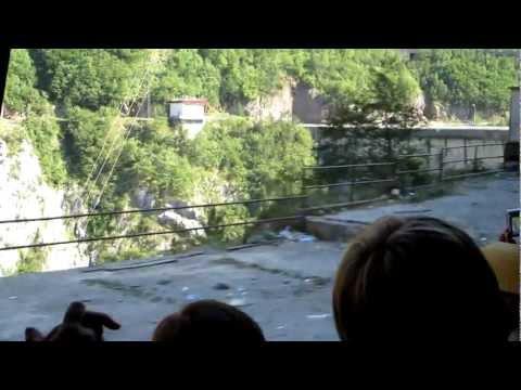 Hydropower facility on Piva river, Montenegro