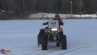 FIRST RIDE ON NEW RENEGADE XMR 1000 PT 1