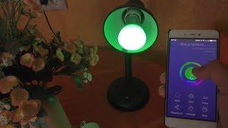 Умный Дом: выключатель Sonoff Touch, лампа Sonoff B1 и патрон E27 ► Посылка из Китая / itead.cc