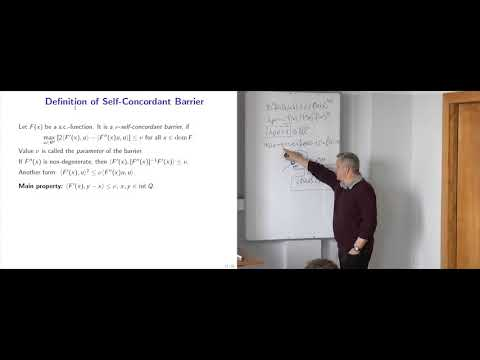Modern Algorithmic Optimization - lec.7