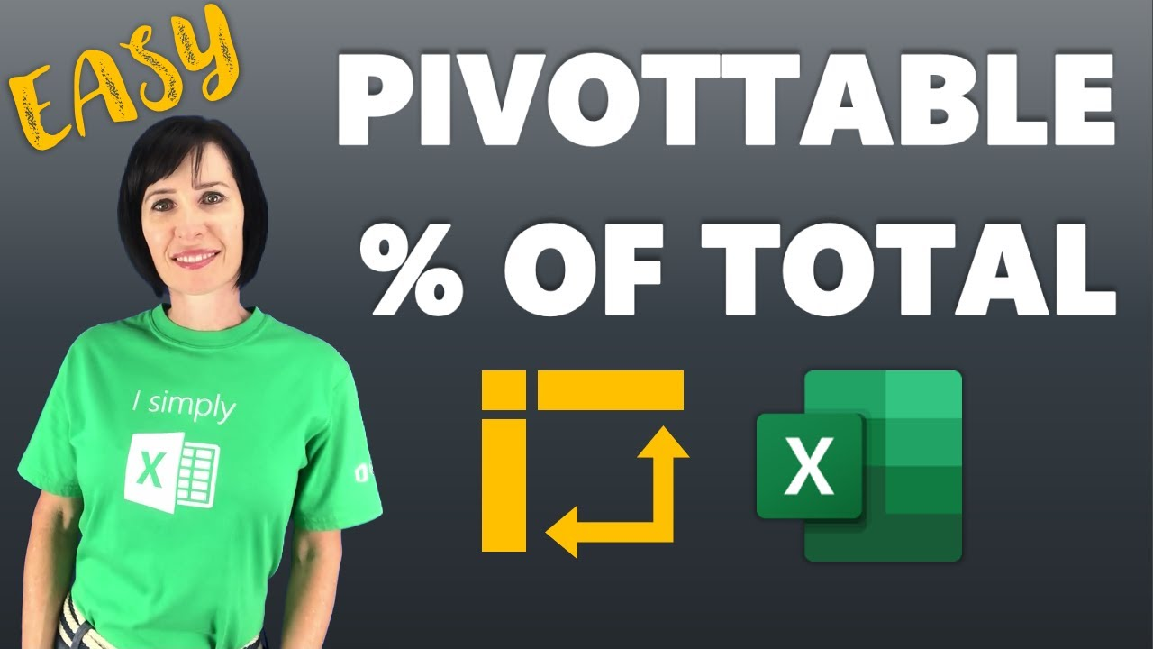 also excel pivottable add percentage of total column youtube rh