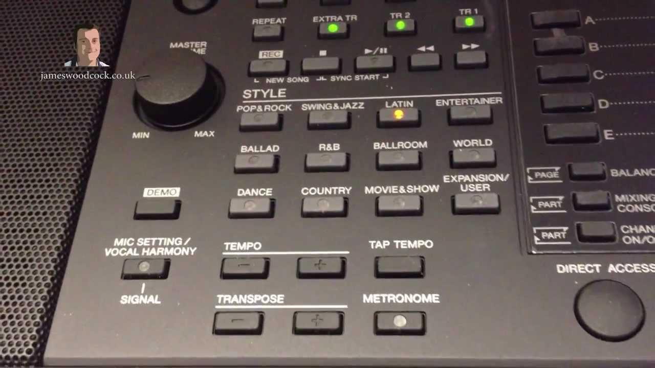 yamaha psr-s950 keyboard - main demonstration - youtube