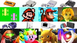Evolution of Nintendo Consoles, Games \u0026 Graphics (1977 - 2019)