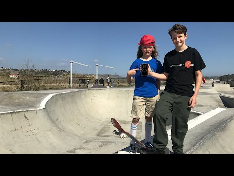 30 MINUTES WITH PHOENIX SINNO AT PRINCE PARK! | Santa Cruz Skateboards