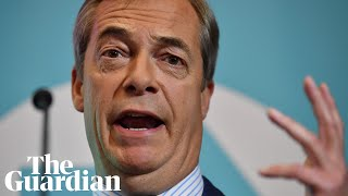 Brexit party will contest every UK seat if no pact with Tories, says Farage