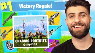 Fortnite's New CLASSIC Mode...