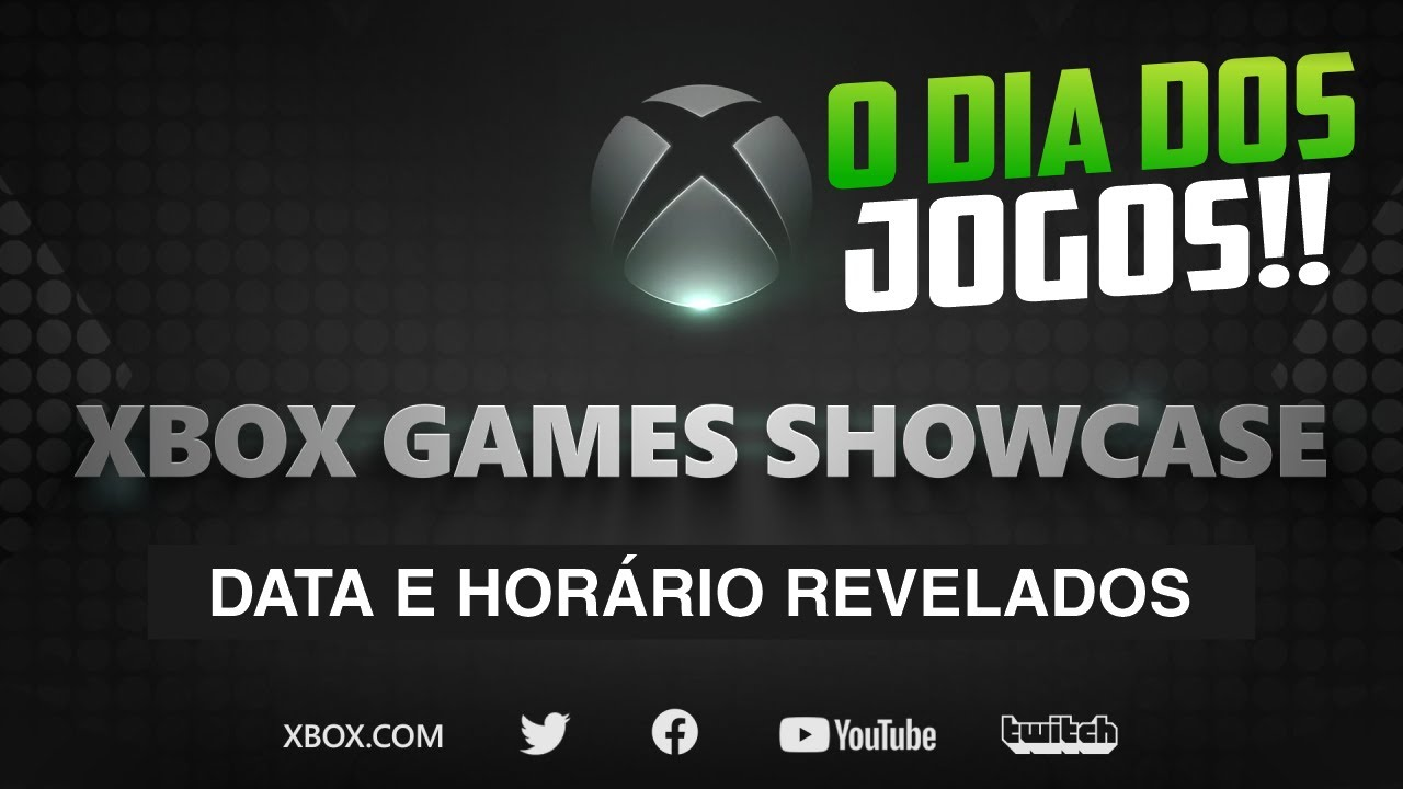 SE PREPARA! REVELADAS oficialmente DATA e HORA do SHOW dos jogos do XBOX! O Xbox Games Showcase!