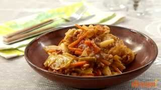 St. Patrick's Day Recipes - How To Make Cabbage Roll Casserole