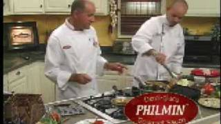 Grilled Shrimp With Philmin Garlic Lemon Wine Sauce