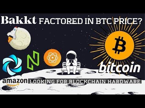 Is Bakkt Factored In BTC Price? Amazon Blockchain Hardware | HPB, NULS | Bitcoin News