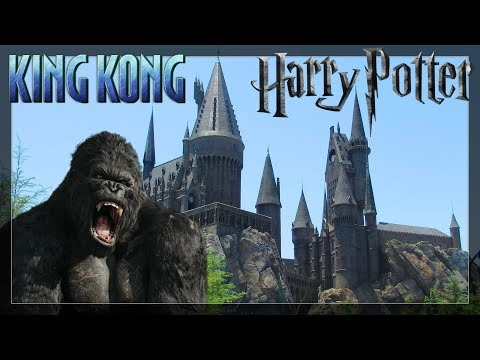Harry Potter and King Kong at Universal Studios - DAY 13