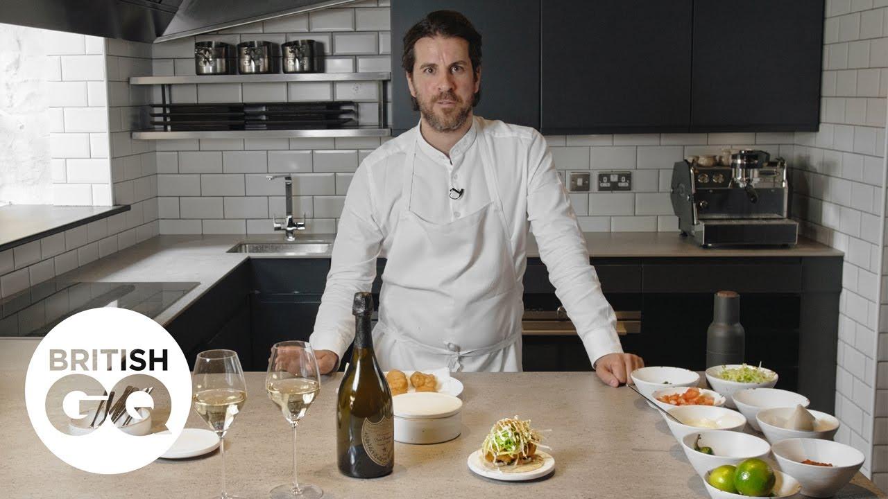 GQ's Food & Drink Masterclass: Peter Sanchez makes his signature fish taco  | British GQ